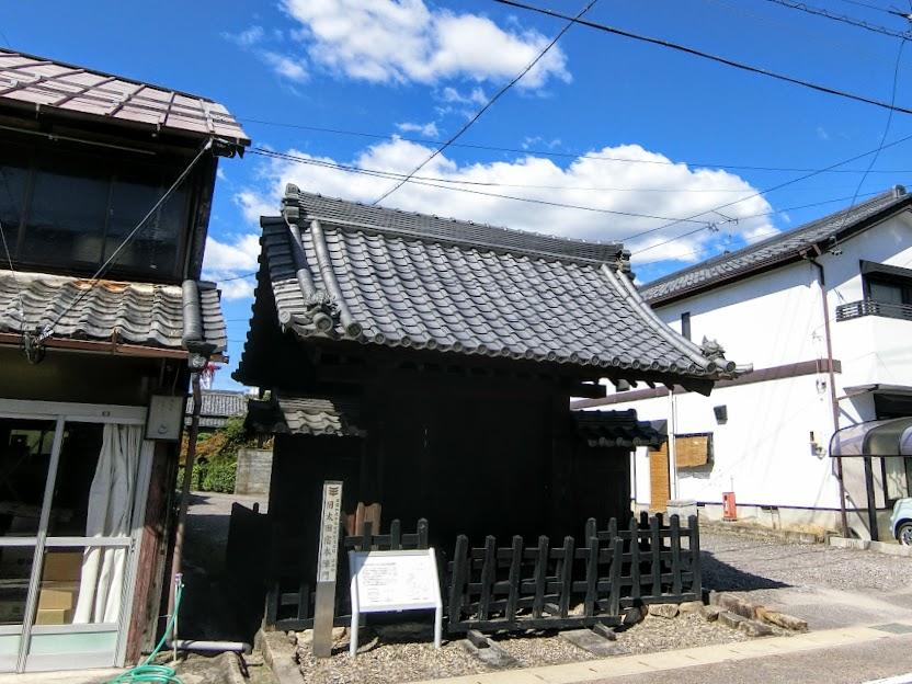 太田宿本陣門