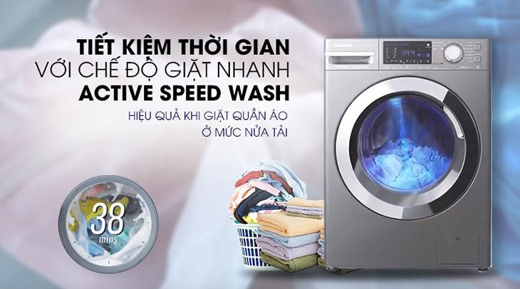 Chế độ giặt nhanh Active Speed Wash