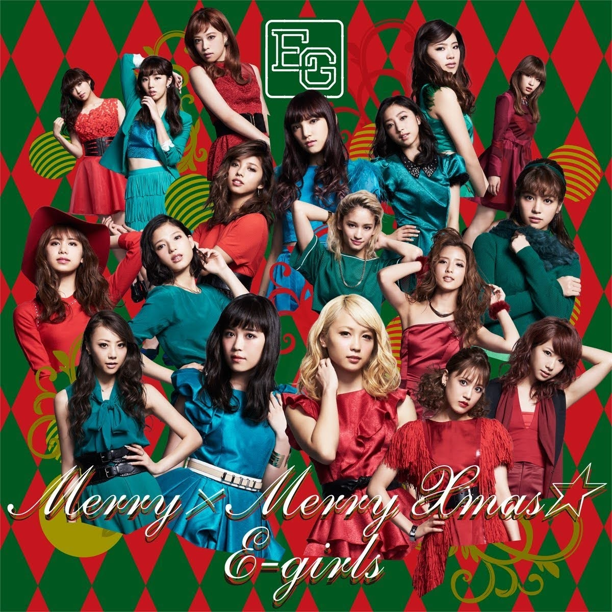 "Capa do single ""Merry × Merry Xmas★"" – CD Only Edition."