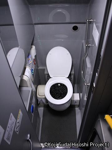 庄内交通「夕陽号」大阪線 ・231 トイレ