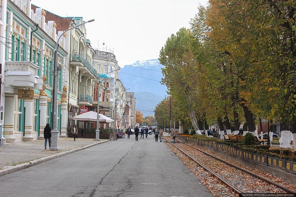 Вернулся из Северного Кавказа.