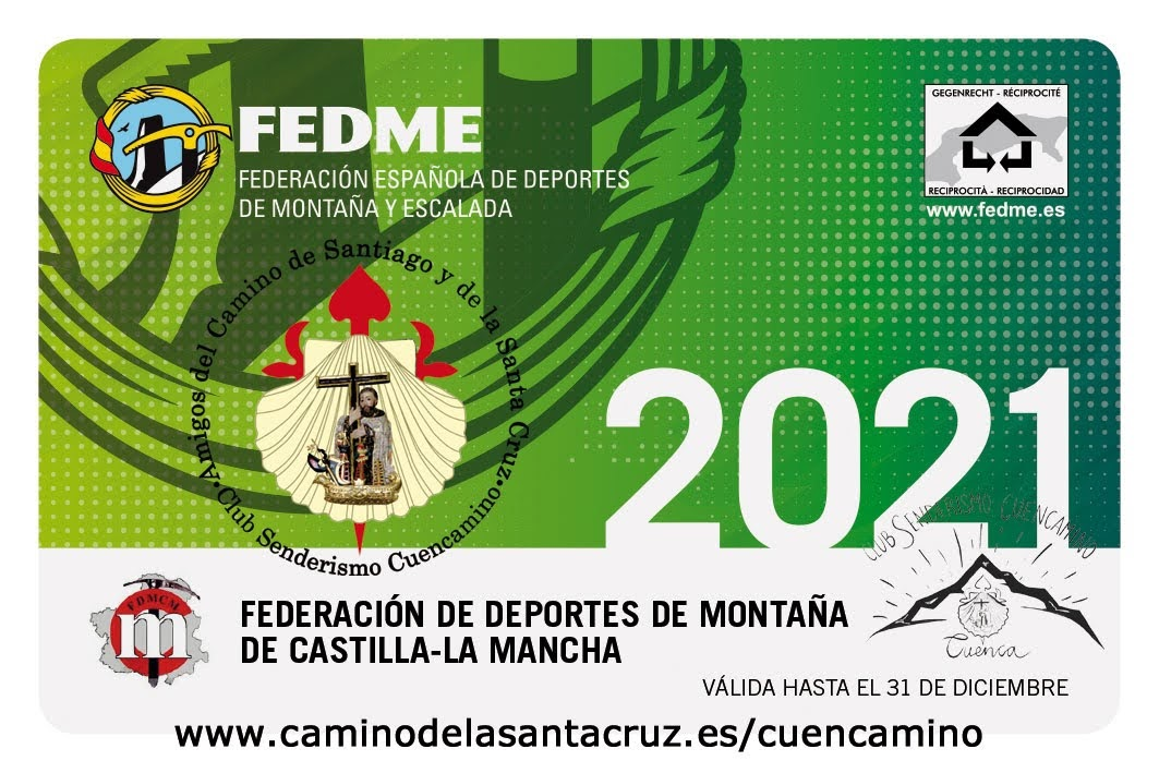 Licencia FEDME 2021
