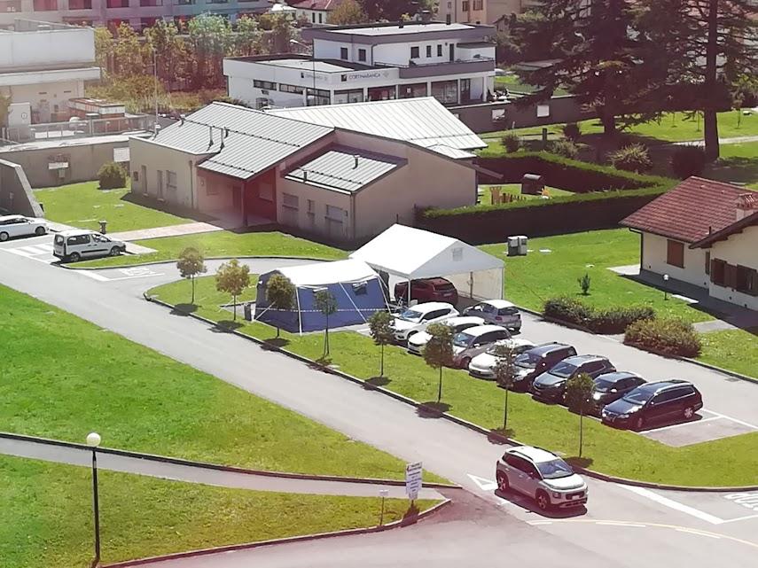 Tamponi dirve in OSpedale San Martino Belluno 20 agosto 2020 ULSS Dolomiti