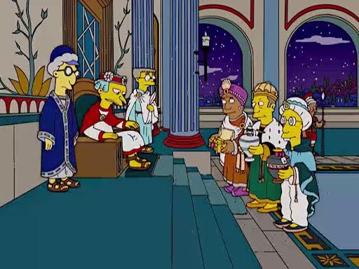 Los Simpsons 17x09 Historia de Navidad de Los Simpsons