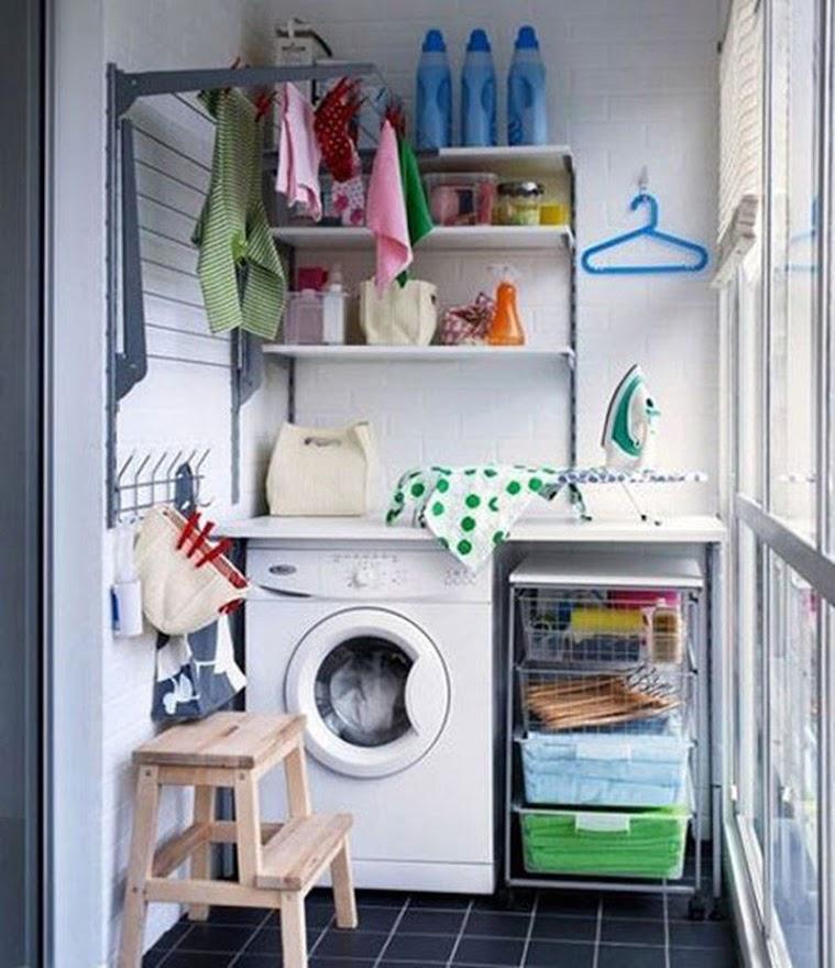 Ban công là vị trí không nên đặt máy giặt.