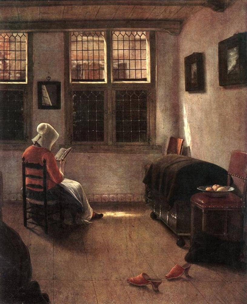Pieter_Janssens_Elinga_-_Reading_Woman_-_WGA7482 reading books to change life.jpg