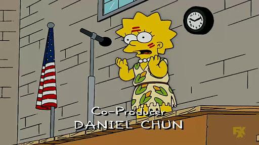 Los Simpsons 18x12 Pequeña niña grande