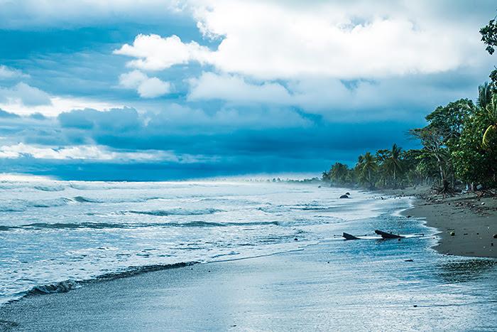 Plaja din El Cocal, Quepos, Costa Rica