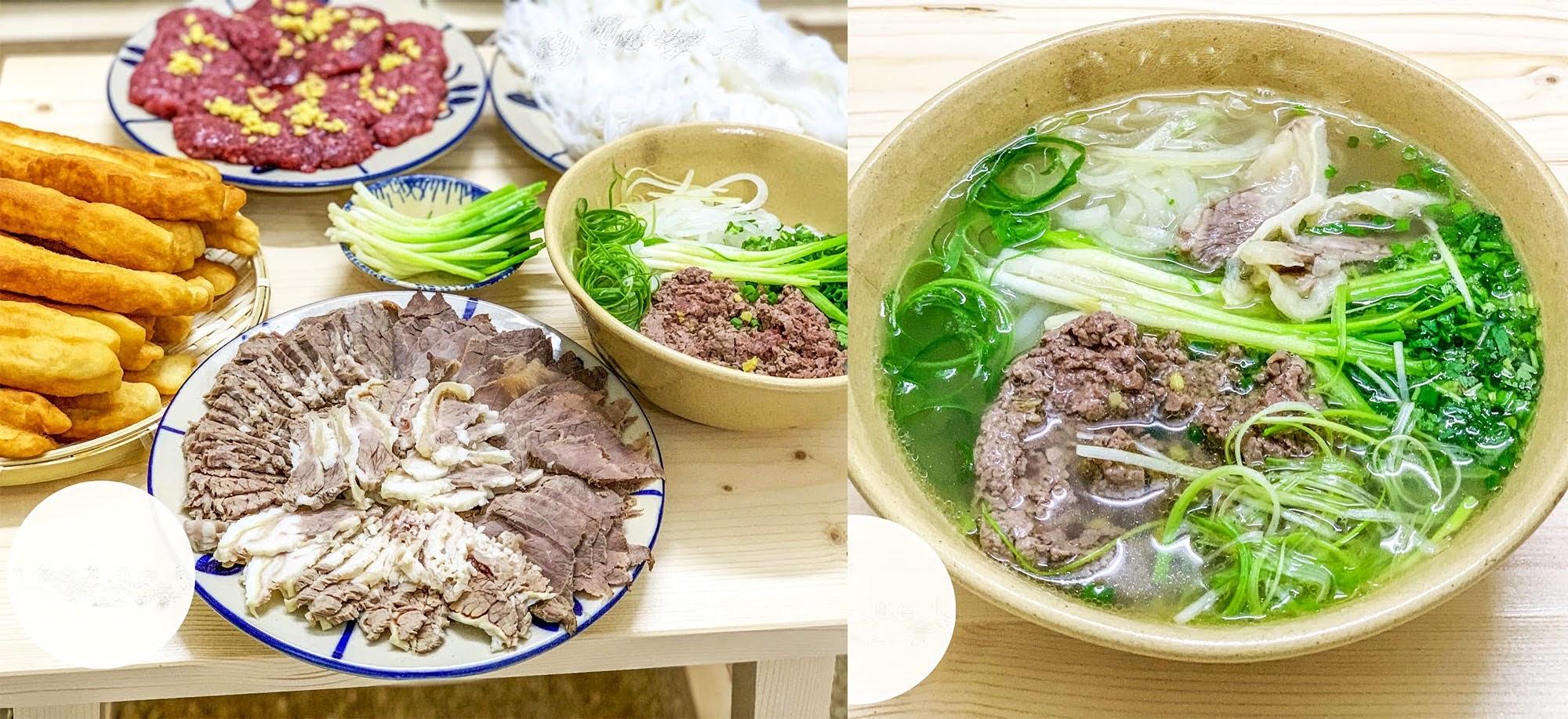 Công thức nấu phở bò ngon, nước trong vị đậm đà