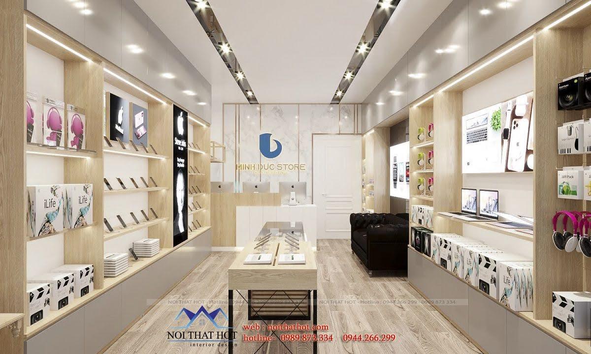 thiết kế shop điện thoại hải phòng