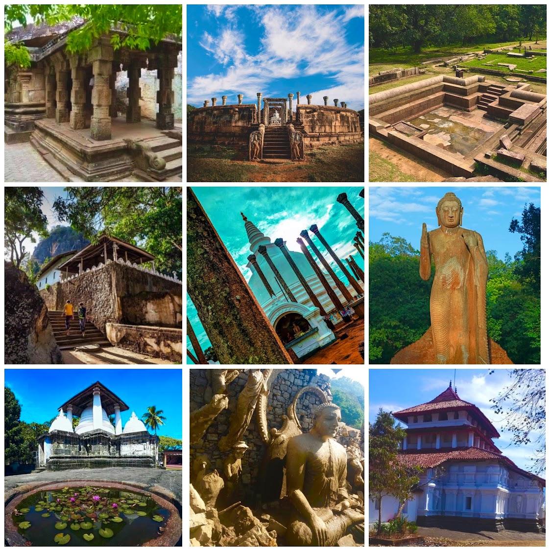 Historical Sites in Sri Lanka