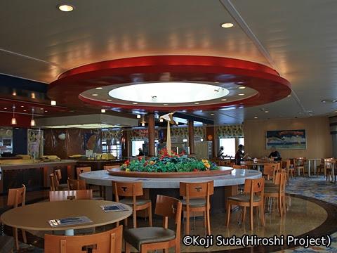 太平洋フェリー「きそ」 6デッキ レストラン「タヒチ」_02