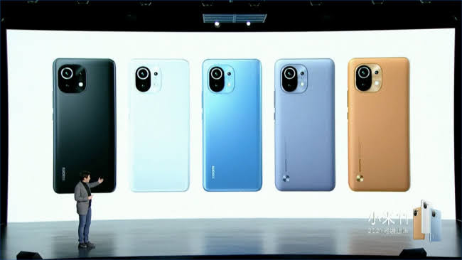 Xiaomi Mi 11 cores