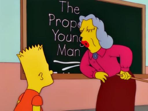 Los Simpsons 12x20 Hijos de segunda clase