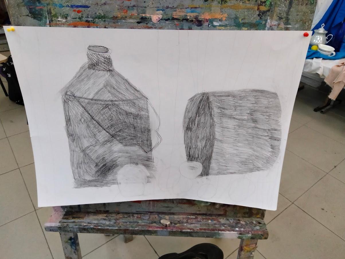 Про весну и рисование