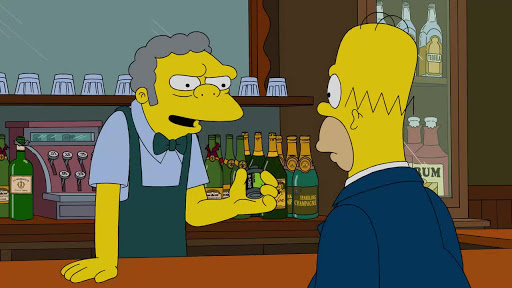 Los Simpsons 26x19 Los niños solo pelean