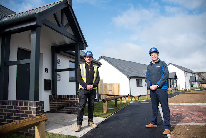 £1.3m social housing development completed