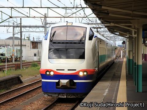 JR東日本 E653系 快速「おはよう信越」