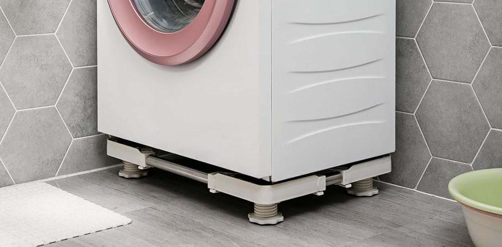 giúp máy giặt tránh tiếp xúc trực tiếp với nước