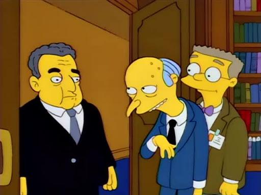 Los Simpsons 5x10 Springfield prospero o el problema del juego
