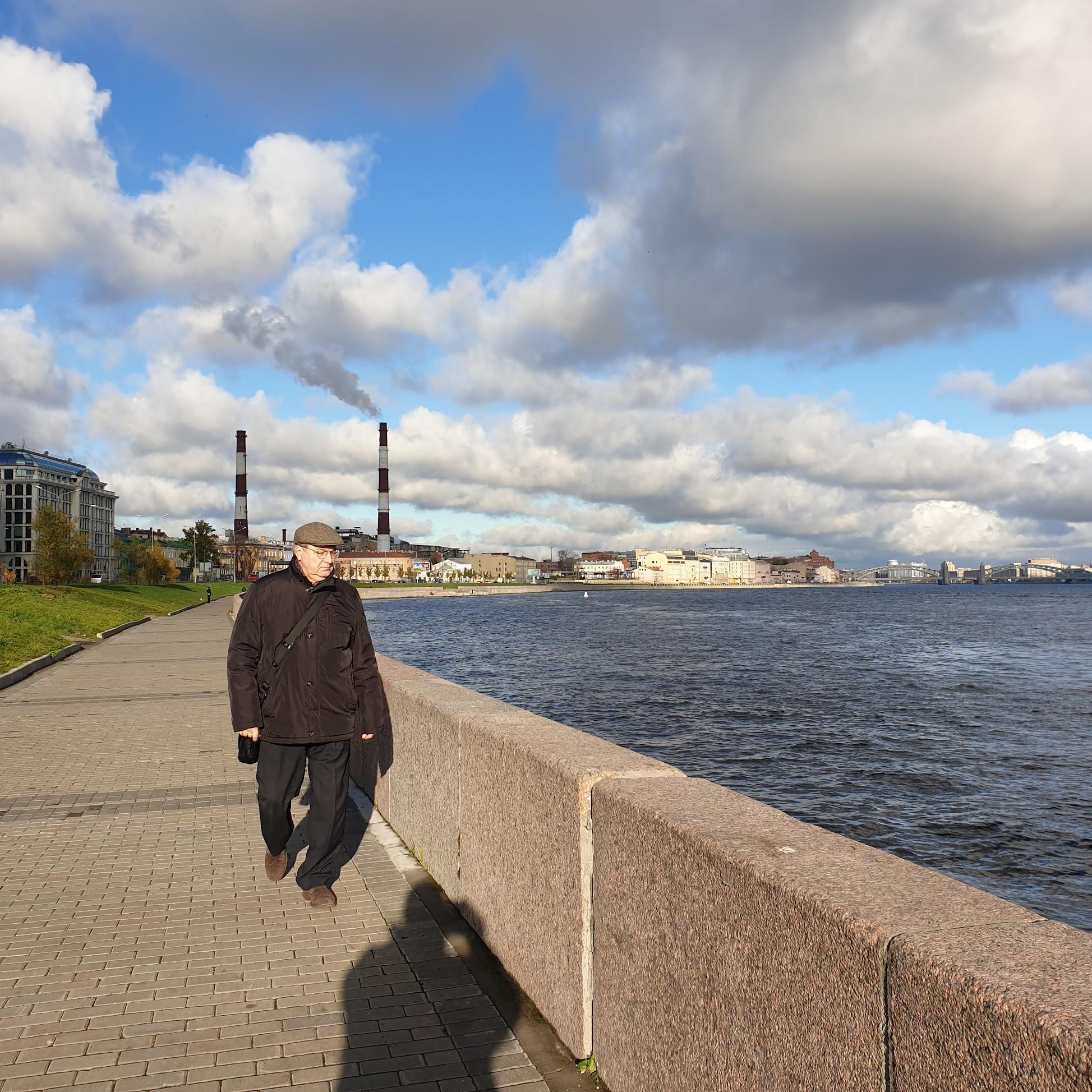 Набережные «непарадной» Невы, или прогулки в разгар эпидемии, осень – зима 2020-21гг