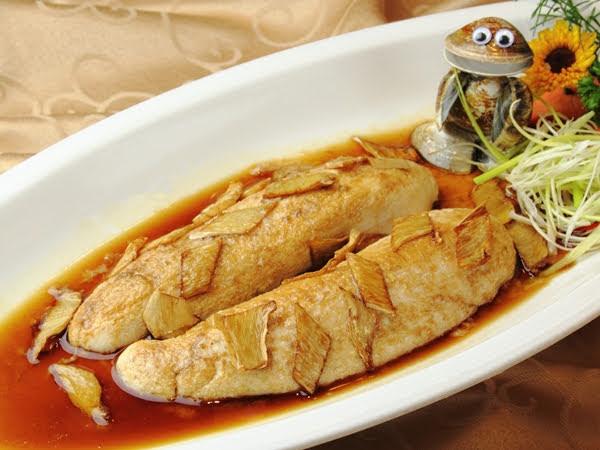烏魚鰾煎麻油