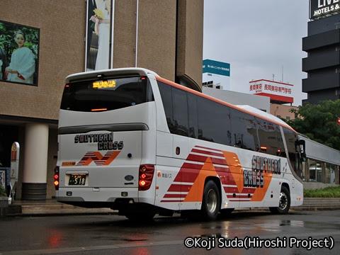 南海バス「サザンクロス」長岡・三条線 ・518 リア