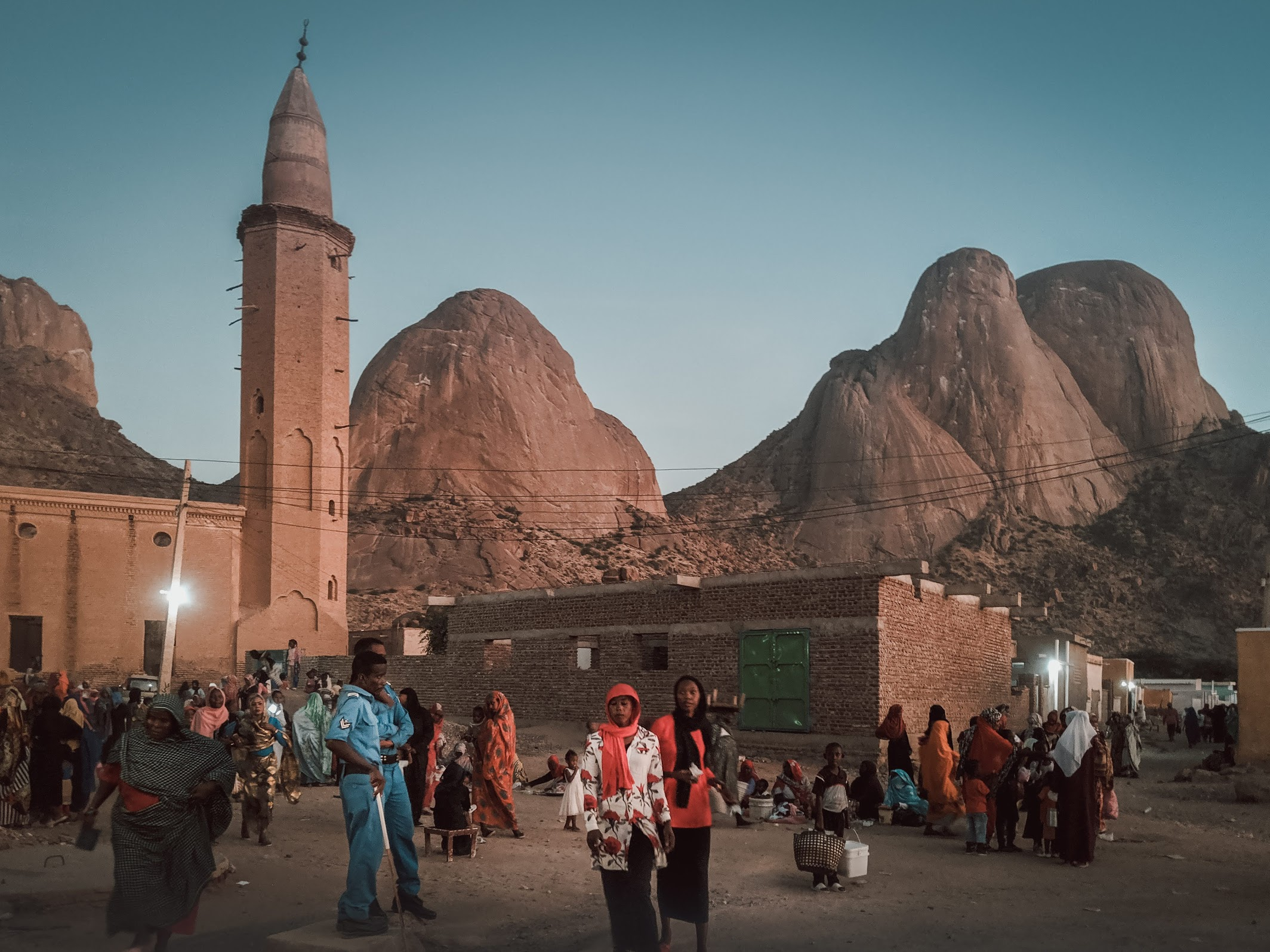 The mosque in Kassala