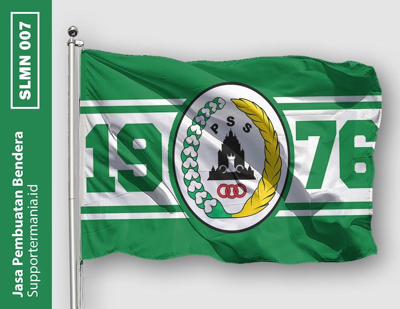 Desain Bendera atau Mini Flag PSS Sleman dan BCS 7