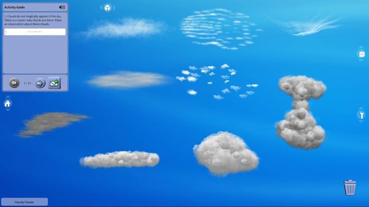 물 순환(흐린 구름)