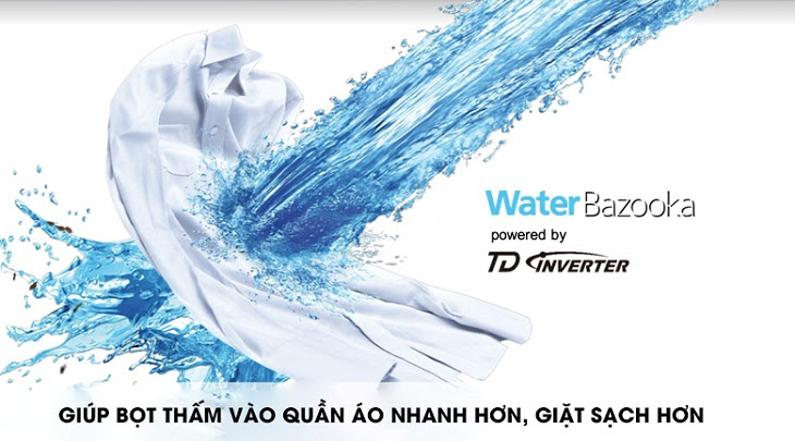 xoáy nước Water bazooka