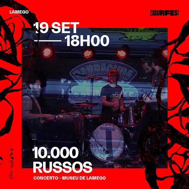 ZigurFest 2020 | 10 000 Russos, David Bruno, Inauguração