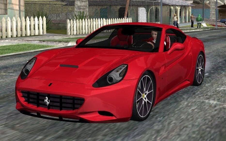 【車Mod】ルーフが自動開閉!フェラーリ カリフォルニア コンバーチブル