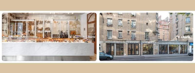 パリのパンオショコラ  Liberté リベルテ