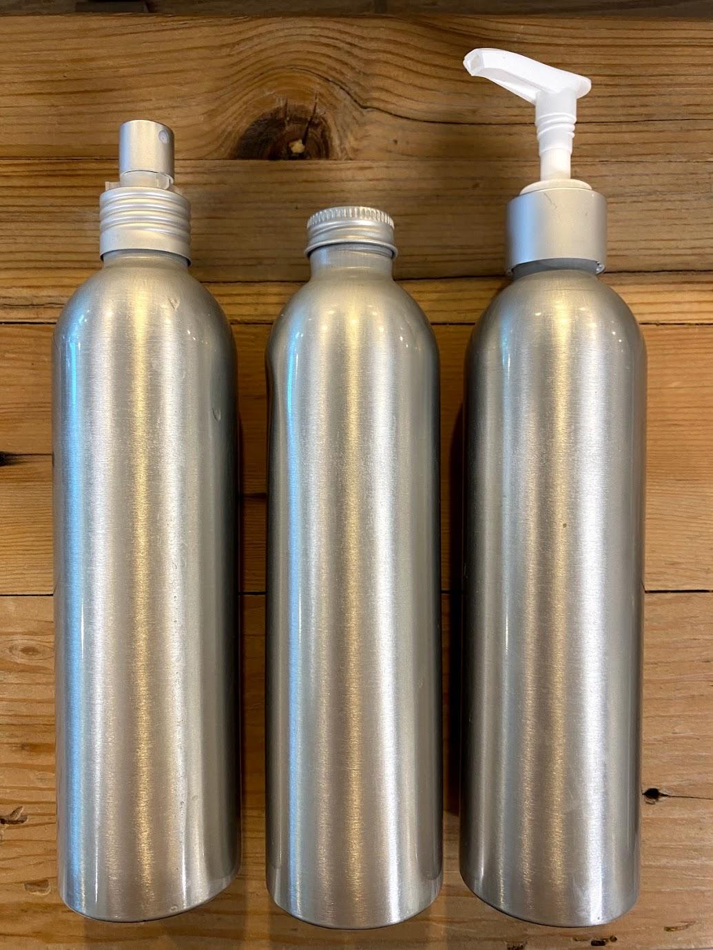 Aluminum Bottles and Accessories