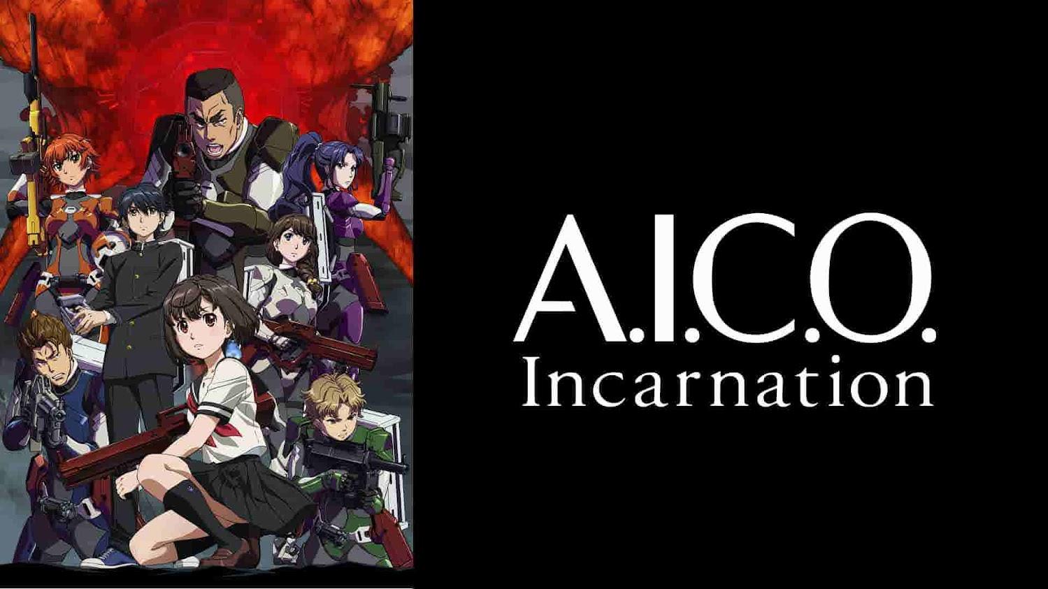 A.I.C.O. Incarnation|全話アニメ無料動画まとめ