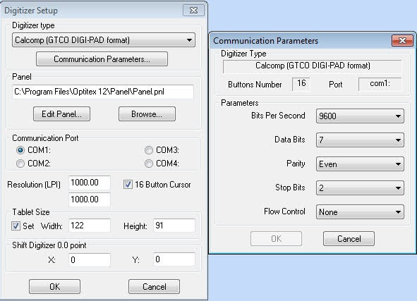 Cài Đặt Bảng Nhập Rập Số Hóa Digitizer Trong Optitex 1