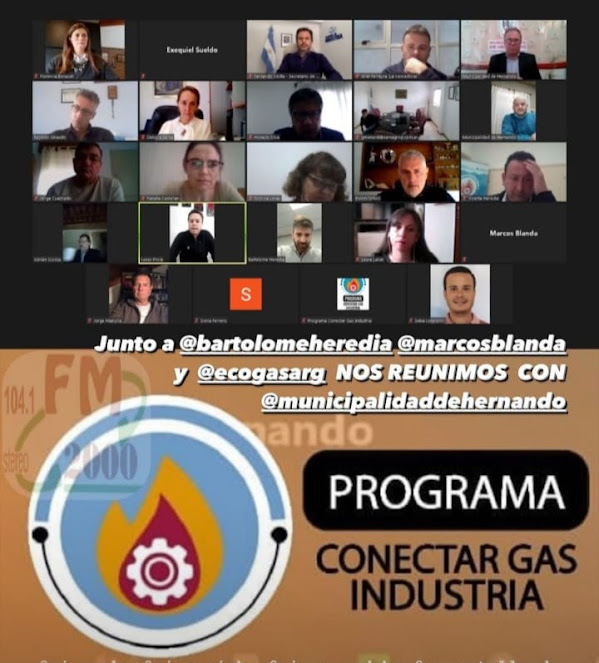 INTENDENTE BOTTASSO: PROGRAMA CONECTAR GAS INDUSTRIA