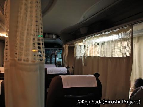 中国JRバス「出雲ドリーム博多号」 641-3955 博多バスターミナル発車後