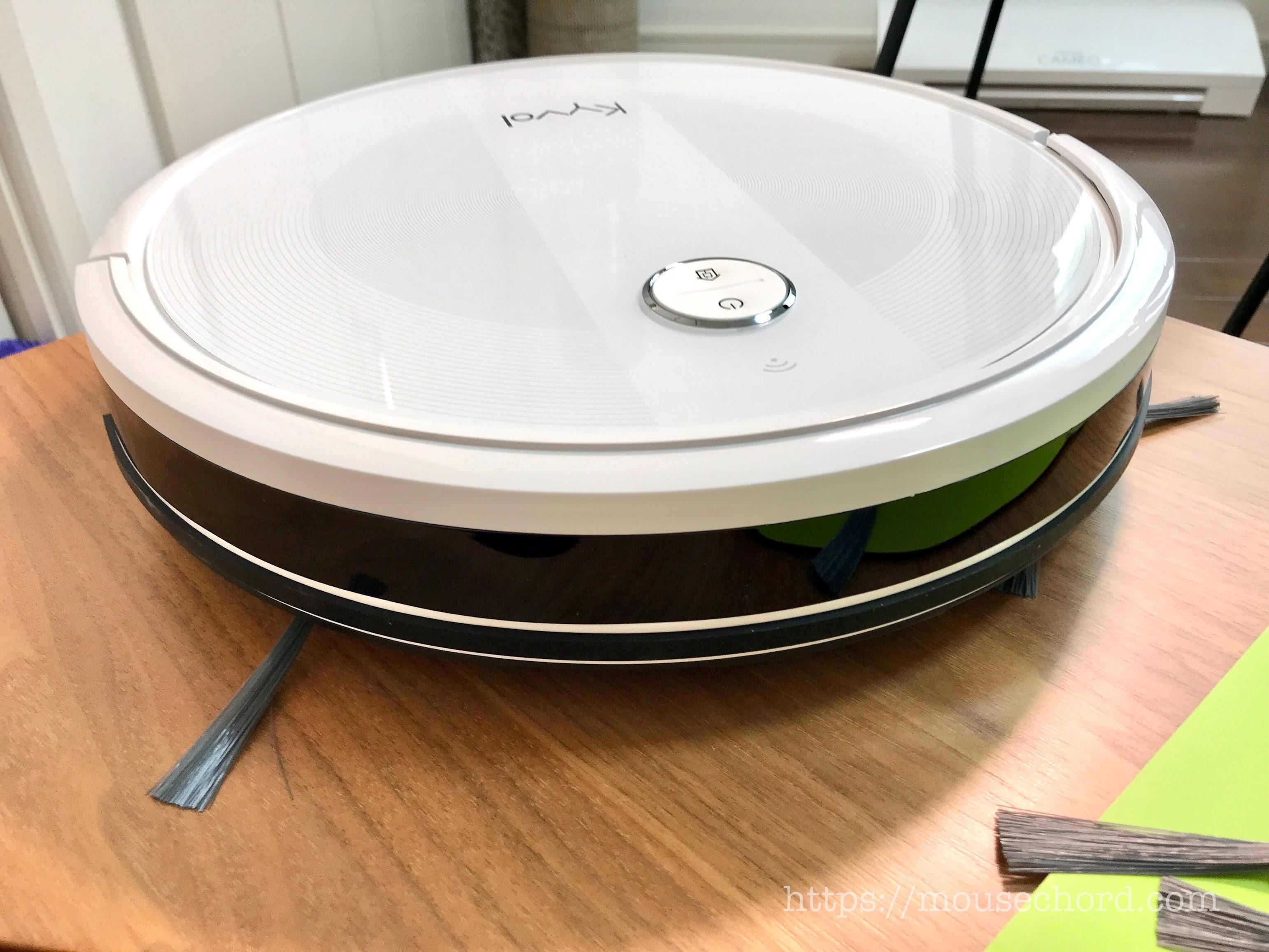 Alexa対応!Kyvolロボット掃除機「 E20」商品Review