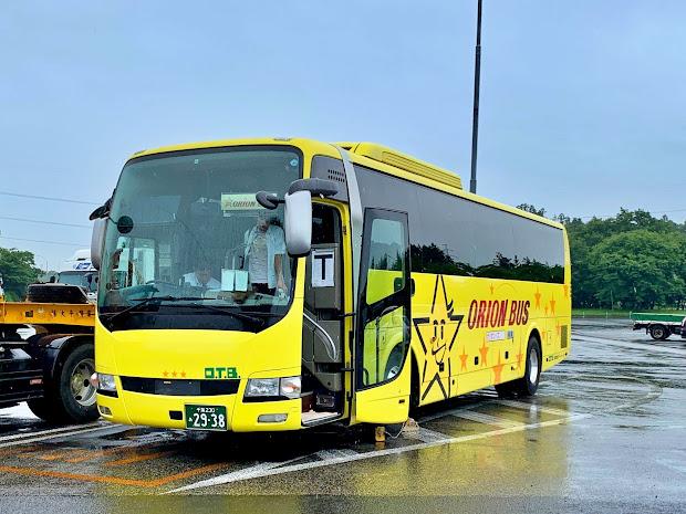 盛岡発東京行 昼行バスに乗ってきました