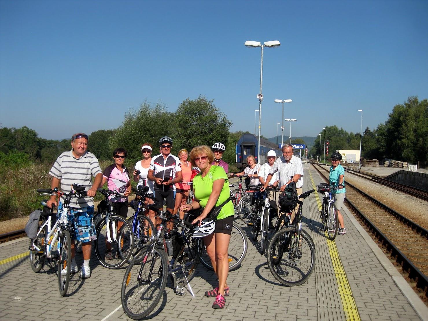 Cyklovýlet do Olešníku
