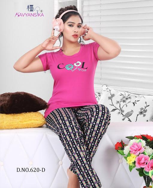 Kavyansika Vol 620 Women Night Suits Catalog Lowest Price