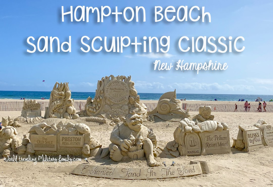 Hampton Beach Sand Sculpting Classic