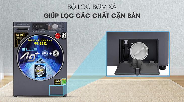 Máy giặt Panasonic lồng ngang FX2 diệt khuẩn bằng nước lạnh có gì hot?