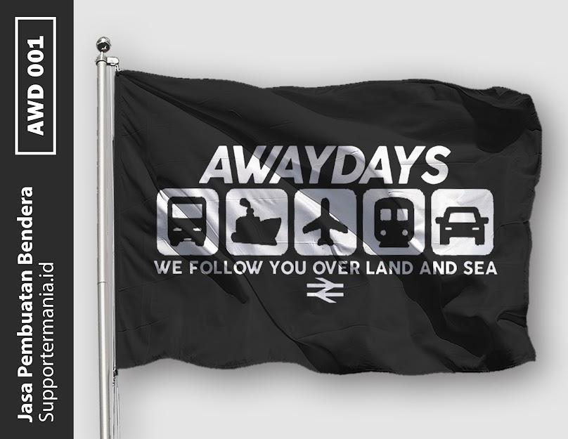 Desain Bendera atau Mini Flag Ultras Away Days