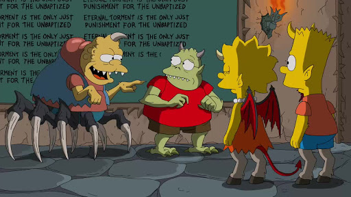Los Simpsons 26x04 La Casita del Horror XXV