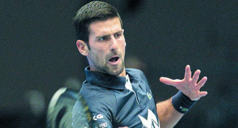 Djokovic continúa arrollador; vence a Coric en Viena