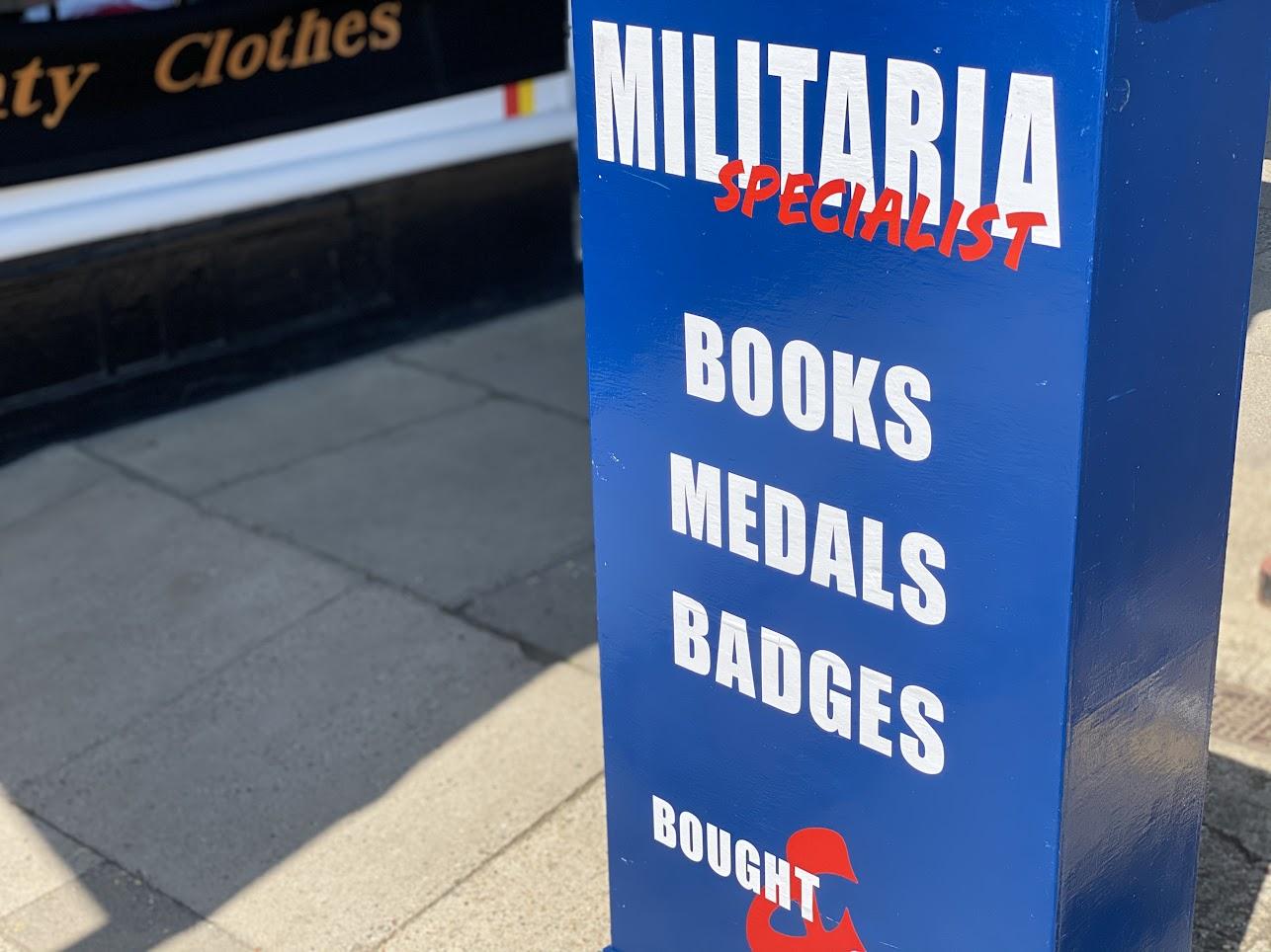 Cinque Ports Militaria Tenterden