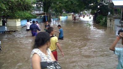 Banjir Bandang di Sitaro, 163 Warga Dievakuasi